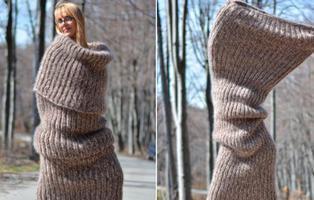 Llega la 'bufabrigo': la prenda de moda más marginal que causa furor este invierno