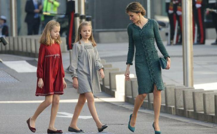 La Reina Letizia será la encargada de la navidad de sus hijas