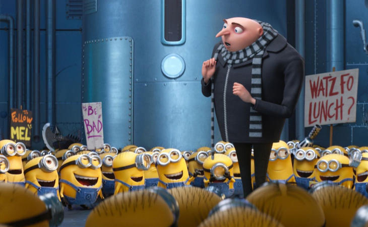 'Gru 3. Mi villano favorito', de Kyle Balda, Pierre Coffin & Eric Guillon