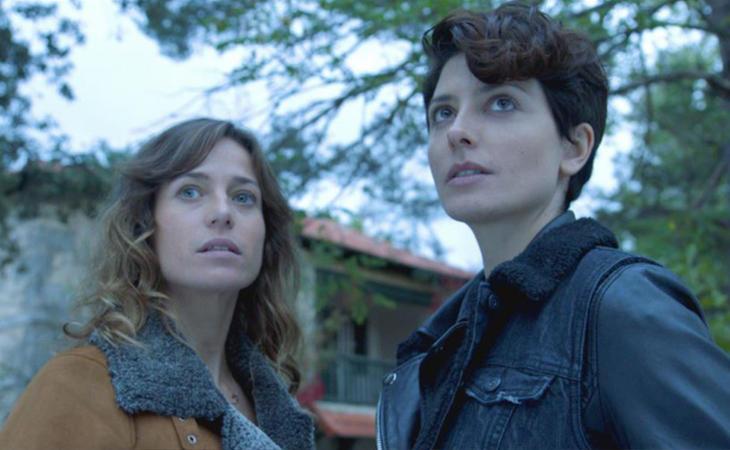 Marta Etura y Bárbara Lennie en 'El incidente'