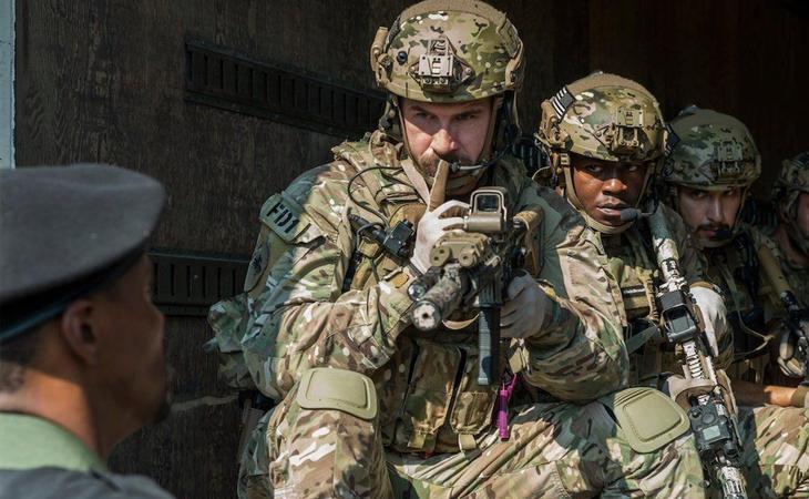 Los soldados americanos se convierten en protagonistas de 'Six'