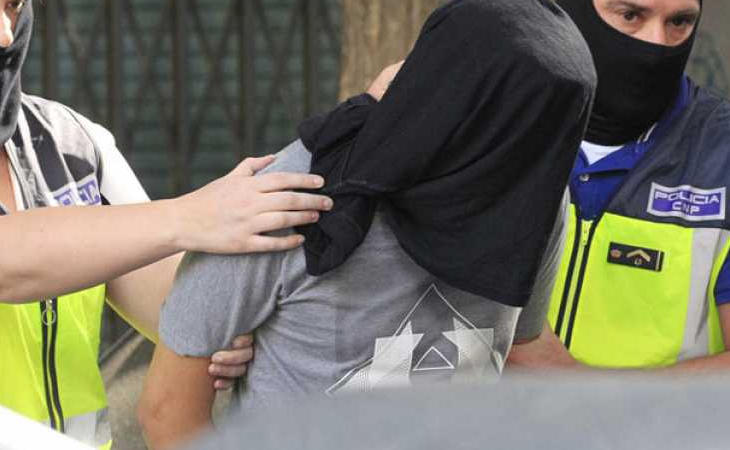 Detención de un yihadista por parte de la Policía