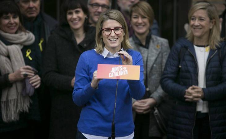 Elsa Artadi es la mujer de máxima confianza de Puigdemont