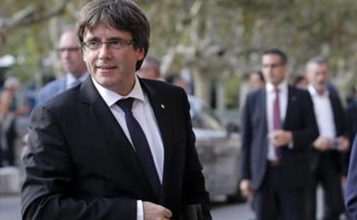 Puigdemont sería detenido en cuanto pise España