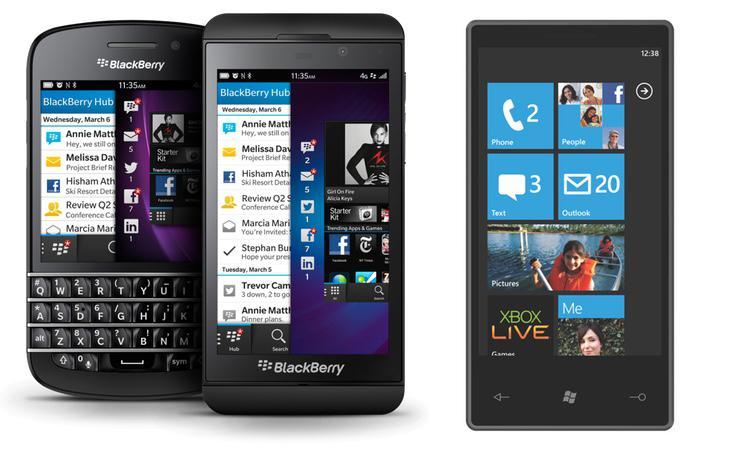 Windows Phone 7 o Blackberry 10 serán algunos de los sistemas operativos afectados
