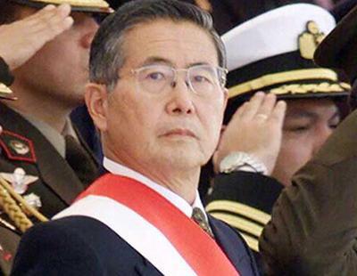 El dictador Fujimori agradece el indulto por crímenes de lesa humanidad