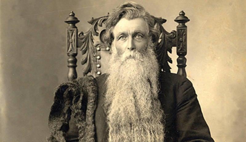 El otro Hans, Hans Nielsen Langseth, tenía una barba de más de 5 metros