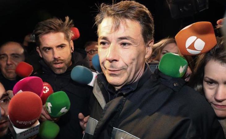Ignacio González salió de prisión porque no había riesgo de destrucción de pruebas