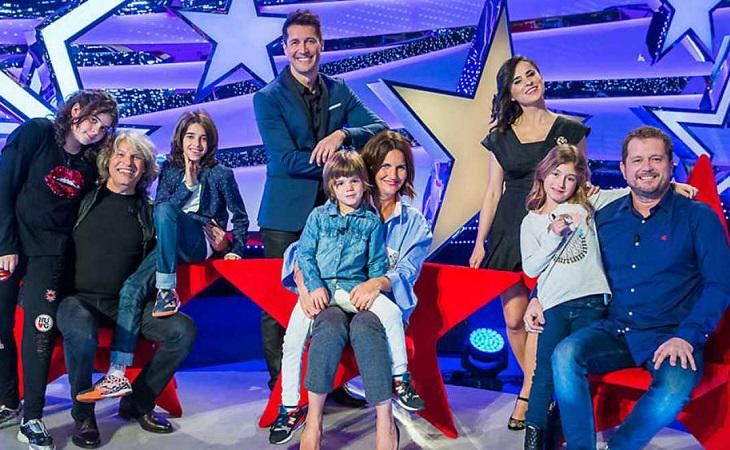 Jaime Cantizano ejerció de maestro de ceremonias en 'Jugando con las estrellas'