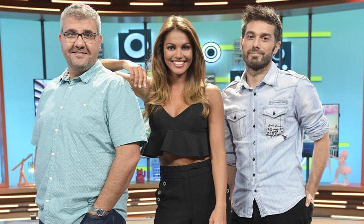 Florentino Fernández, Lara Álvarez y Dani Martínez en 'Dani&Flo'