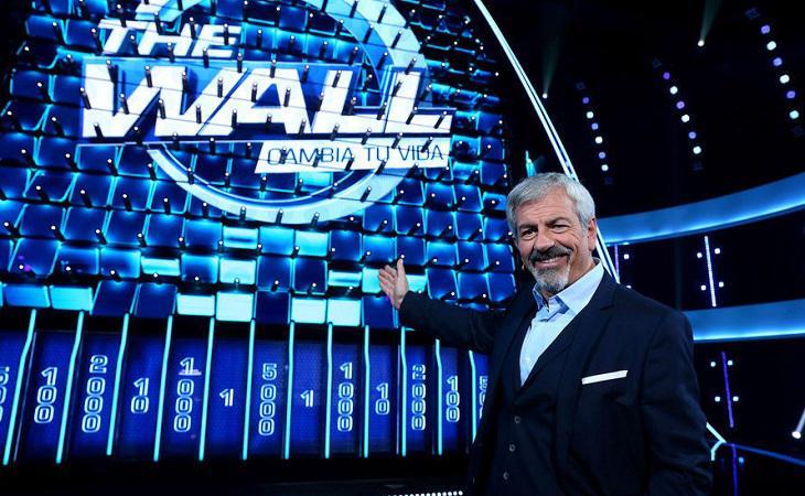 Carlos Sobera estuvo al frente de 'The Wall'