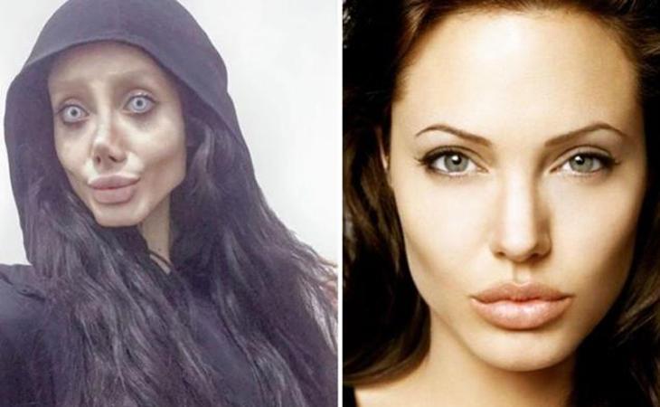 El maquillaje y el photoshop dieron lugar a este bulo
