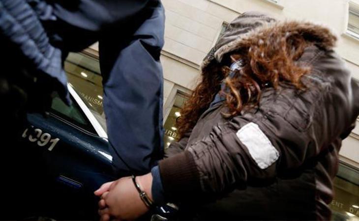 Imagen de la acusada a su llegada al juicio (EFE)