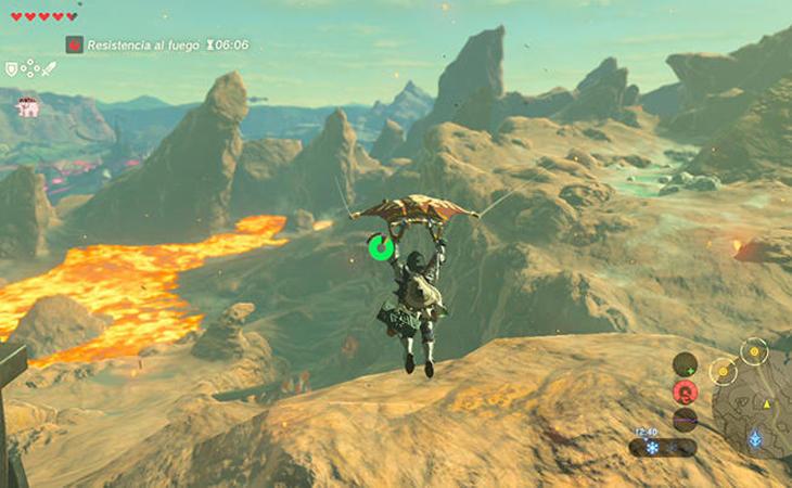 El mundo abierto de 'The Legend of Zelda: BreathoftheWild' es inmenso