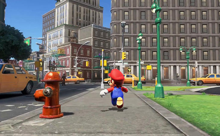 Quien iba a decir a Mario que iba a visitar una Nueva York en 'Super Mario Odyssey'