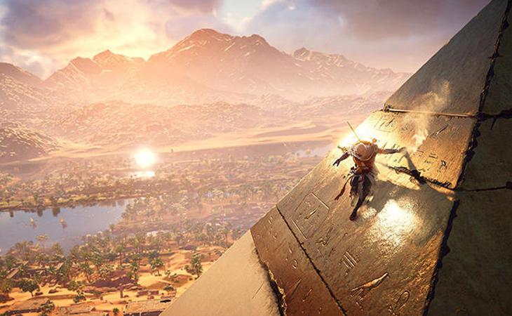 El antiguo Egipto es una localización perfecta para el juego