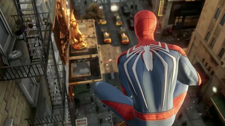 Spidey tiene una ciudad de Nueva York enorme ante él