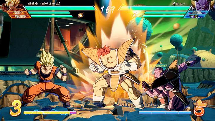 Los combates serán de una estetica muy similar al anime