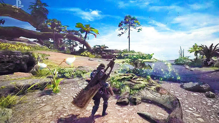 El mundo de 'Monster Hunter World será mas grande y sin transiciones