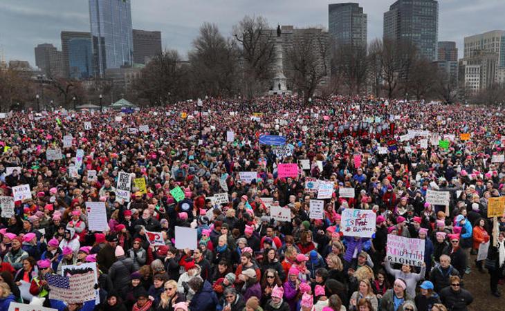 Las mujeres rechazan a Trump