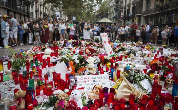 Lloramos los atentados de Cataluña