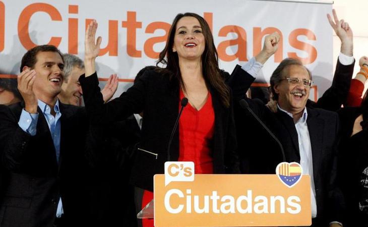 Ciudadanos, primera fuerza en Cataluña