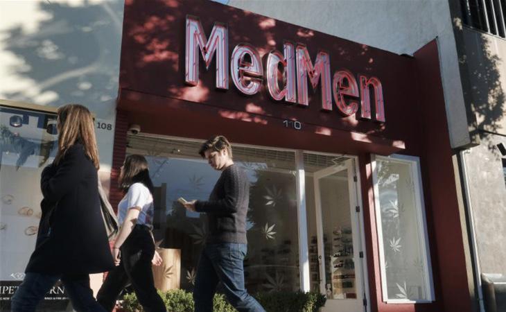 Uno de los establecimientos californianos donde se puede adquirir cannabis de forma legal desde el 1 de enero