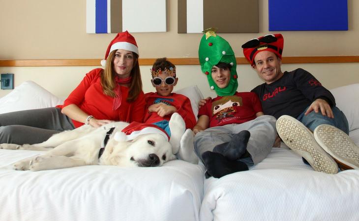 La familia es la mejor solución en navidad
