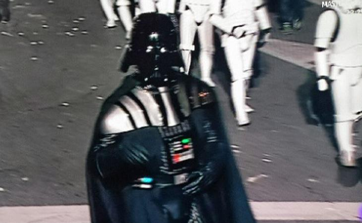 La asociación no menciona la presencia de Darth Vader