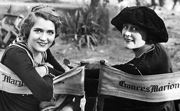 Mary Pickford acabó montando su propia productora de cine y Frances Marion fue la guionista mejor pagada de la historia
