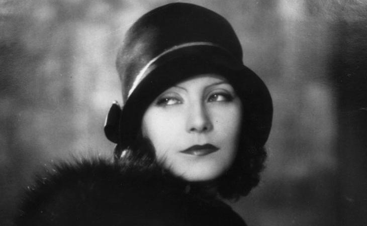 Greta Garbo es todo un icono del cine de los años 20
