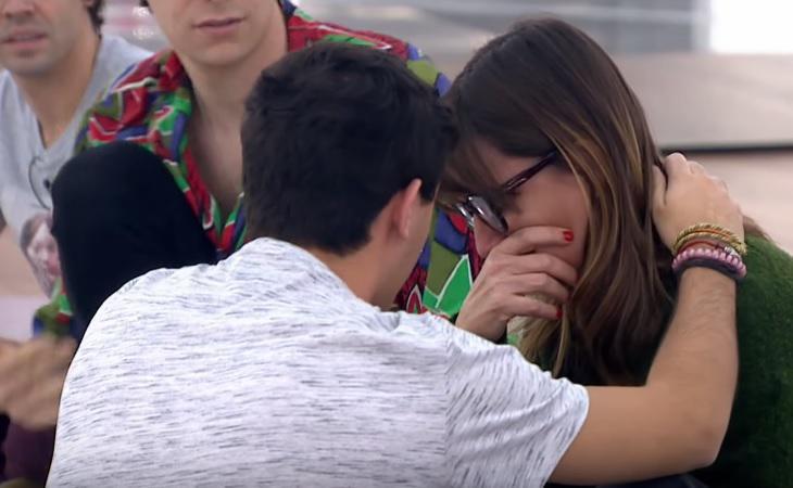 Noemí Galera se derrumba en 'Operación Triunfo'