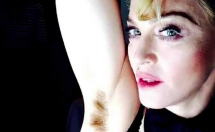 Madonna ya apareció de esta guisa en Facebook en 2015