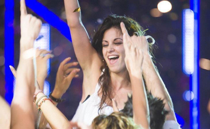 Vicky Gómez fue la ganadora de la primera edición de 'Fama, ¡a bailar!'