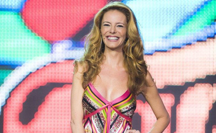 Paula Vázquez fue la primera presentadora de 'Fama, ¡a bailar!'