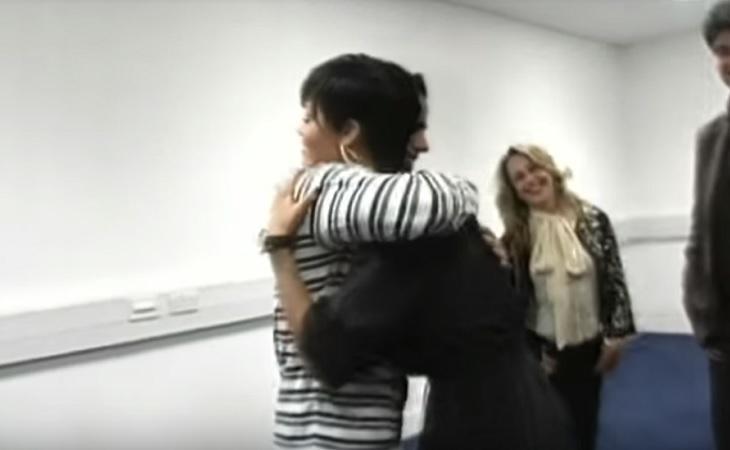 Miguel pudo abrazar a Rihanna gracias a 'Fama, ¡a bailar!'