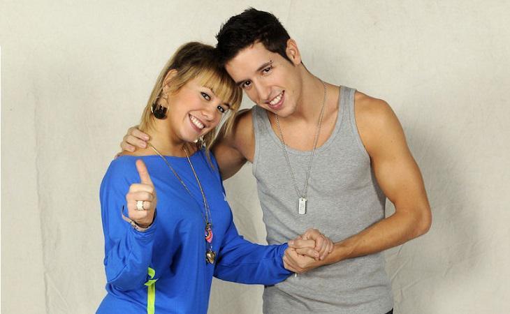 Mery y Hugo fueron pareja de baile y mantuvieron una estrecha relación