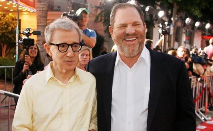 Woody Allen fue uno de los pocos directores que no criticó abiertamente nos abusos de Harvey Weinstein