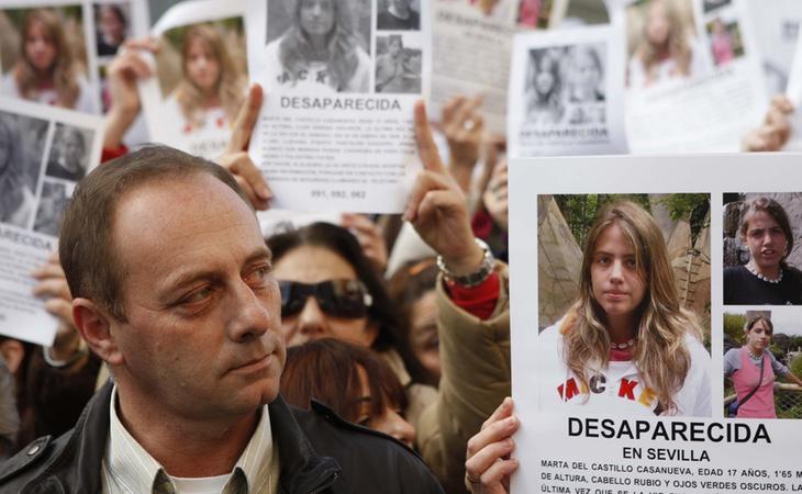 El padre de Marta del Castillo siente frustración por el desarrollo de las investigaciones