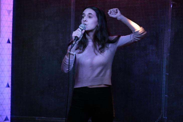 Alejandra Martínez ganó el Poetry Slam
