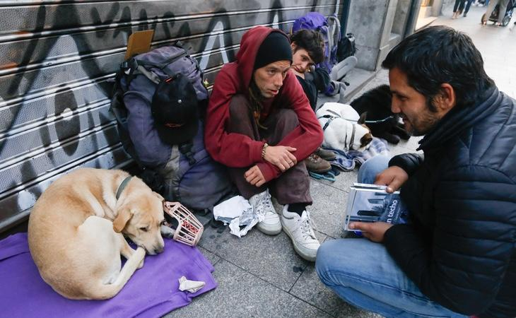 Lagarder es un firme activista a favor de las personas sin hogar | Lito Lizana