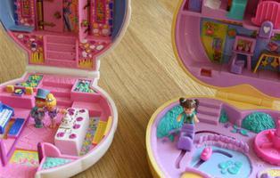 Los Polly Pocket, convertidos en objetos de coleccionista, se venden por miles de euros