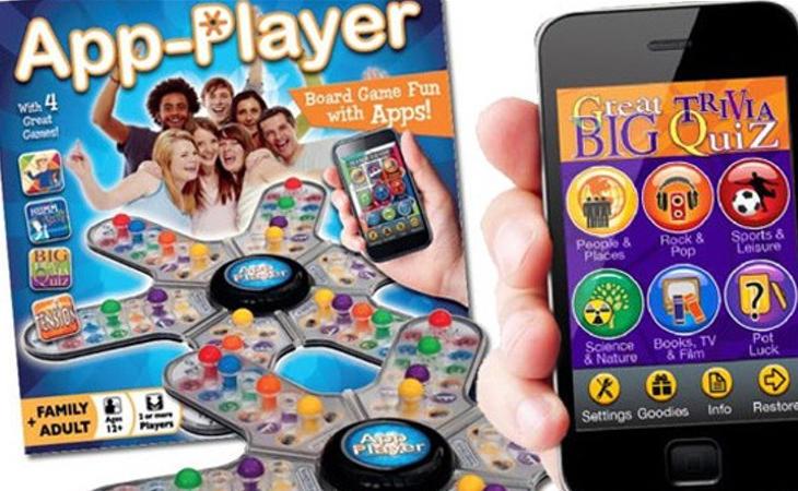 Hay aplicaciones que complementan los juegos de mesa
