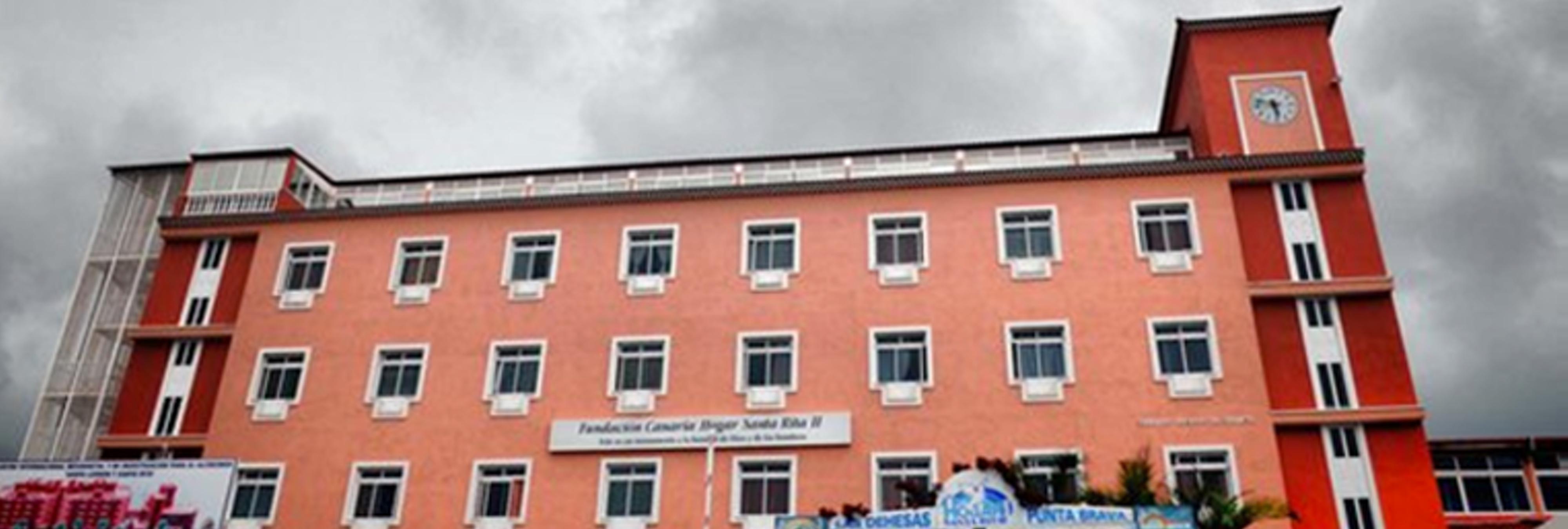 Un anciano mata con la muleta a su compañero de habitación en una residencia de Tenerife