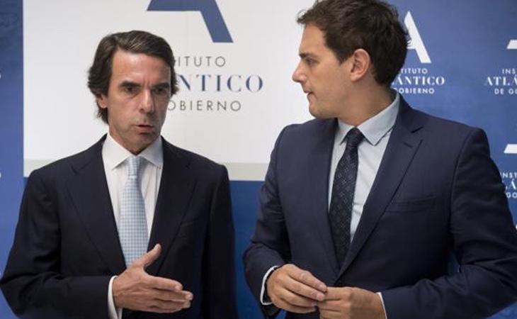 Algunos líderes históricos del PP no ocultan sus simpatías hacia Albert Rivera