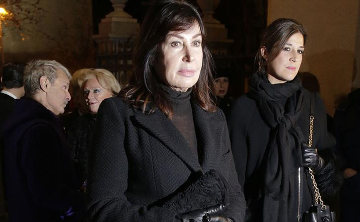 El funeral de Carmen Franco ha destacado con importantes asistencias