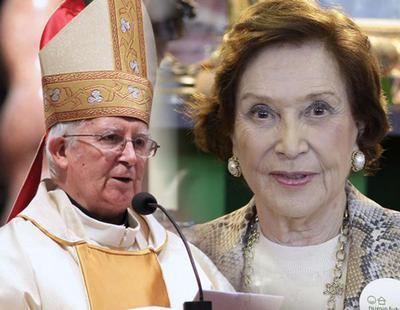 "El cardenal Cañizares elogia a la hija del dictador Franco: ""No conoció el rencor"""