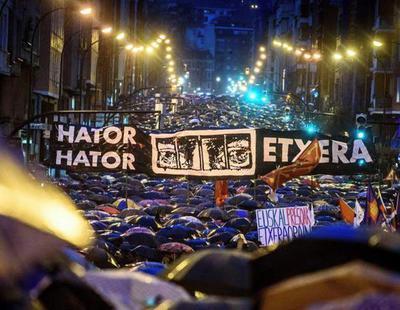 Multitudinaria marcha en Bilbao para pedir el fin de la dispersión de los presos de ETA
