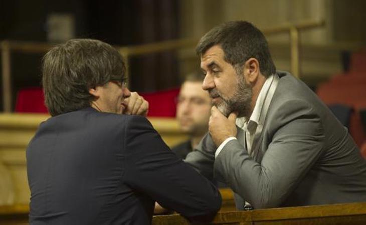 La Policía Judicial destaca que Puigdemont financió a las entidades soberanistas para