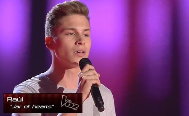 Raoul se quedó a las puertas de la final de 'La Voz'
